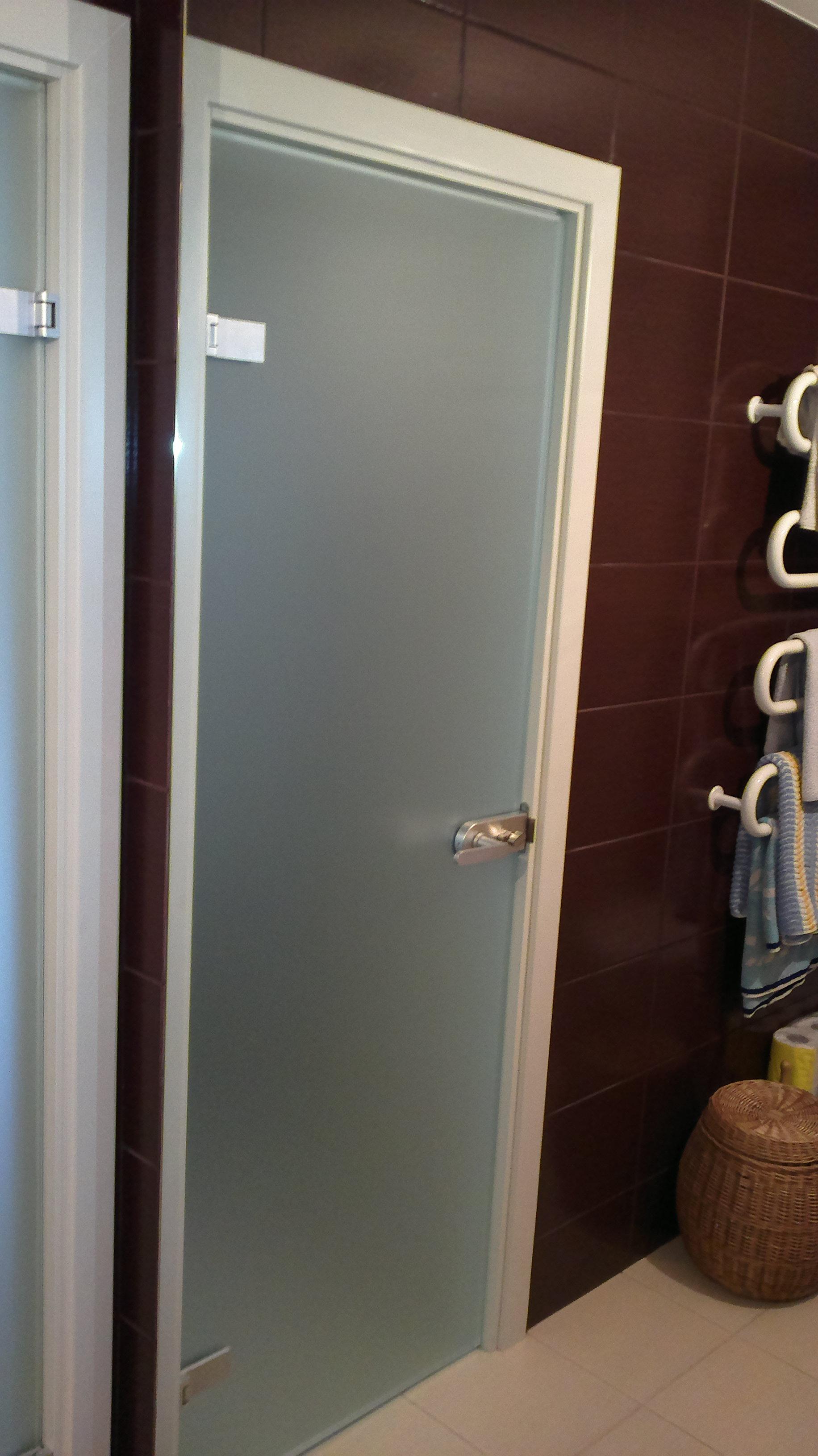 Vonios durys